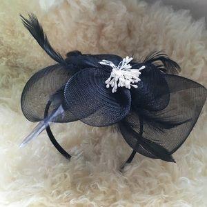 Accessories - DERBY Fascinator! Black Fascinator Derby Hat